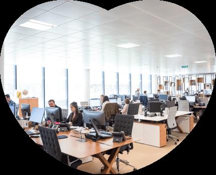 office heart